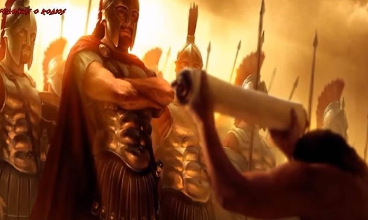 Αυτοί ήταν οι όρκοι που έδιναν οι Αρχαίοι Έλληνες πολεμιστές πριν την μάχη  (vid)