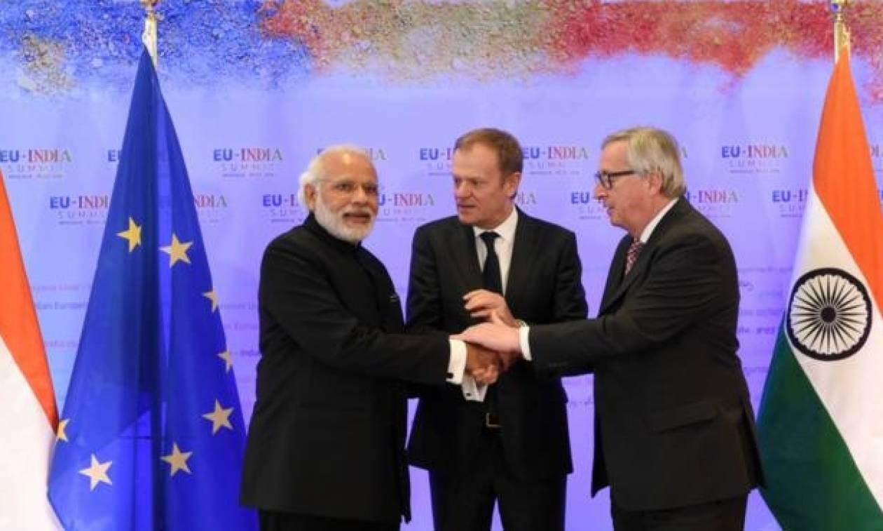 Την Παρασκευή (6/10) στο Νέο Δελχί η 14η Σύνοδος Κορυφής ΕΕ - Ινδίας