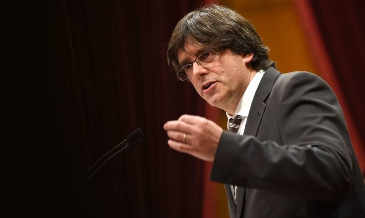Πουτζδεμόν: Η καταλανική κυβέρνηση θα ανακηρύξει την ανεξαρτησία εντός των «ημερών»