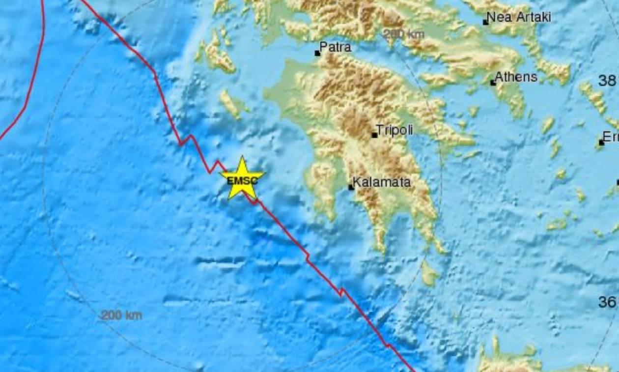 Σεισμός: «Ταρακουνήθηκε» η Μεσσηνία