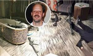 Ο μακελάρης του Λας Βέγκας νεκρός ανάμεσα σε εκατοντάδες σφαίρες (ΠΡΟΣΟΧΗ! ΣΚΛΗΡΕΣ ΕΙΚΟΝΕΣ)