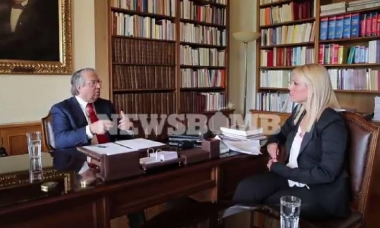 Μπαμπινιώτης στο Newsbomb.gr: «Γκρι αποχρώσεις τζόγου η κλήρωση των σημαιοφόρων!» (video)