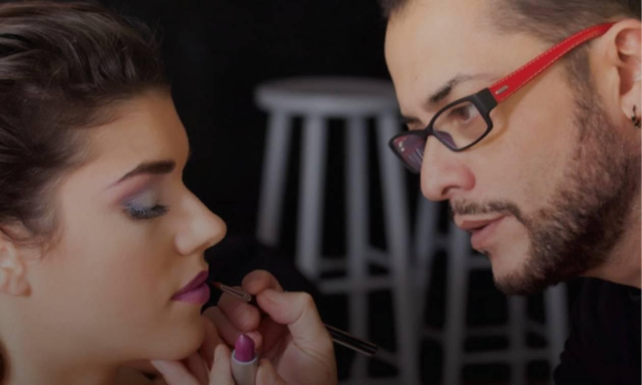 Aποκλειστική συνεργασία του Senior Έλληνα Make-Up Artist Γιάννη Μιχαηλίδη με το ΙΕΚ ΑΛΦΑ