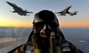 Βίντεο ντοκουμέντο: Έλληνας πιλότος κυνηγά Τούρκο στο Αιγαίο
