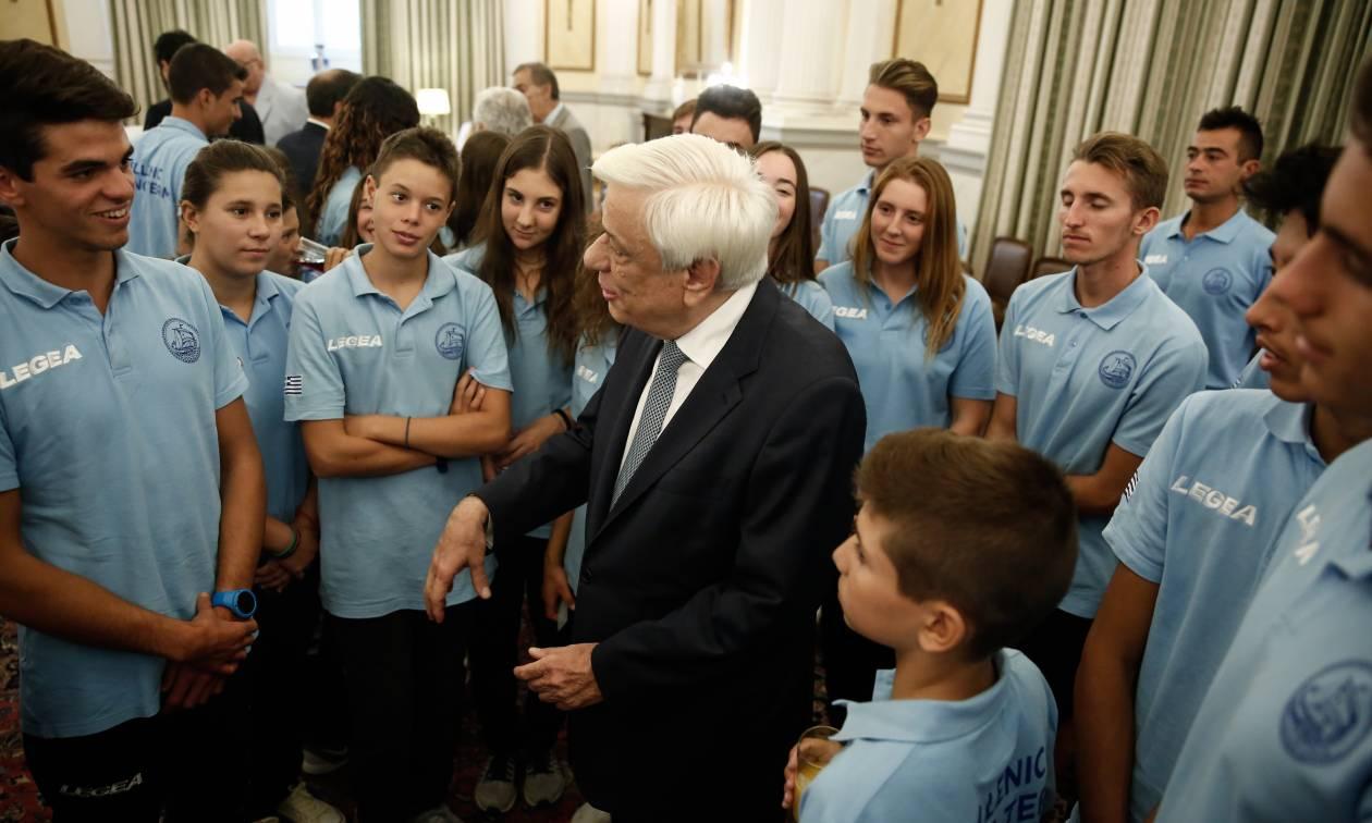 Συγχαρητήρια Παυλόπουλου προς αθλητές ιστιοπλοΐας: Τιμάτε την Ελλάδα με τις επιτυχίες σας