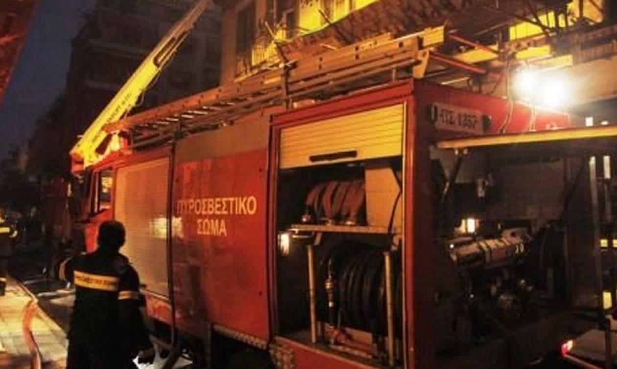 Γυναίκα κάηκε ζωντανή στο κέντρο της Αθήνας
