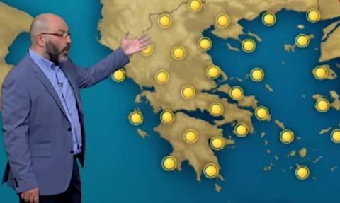 Η προειδοποίηση του Σάκη Αρναούτογλου: Πόσο θα επηρεάσει τη χώρα ο άνεμος Μιστράλ; (video)
