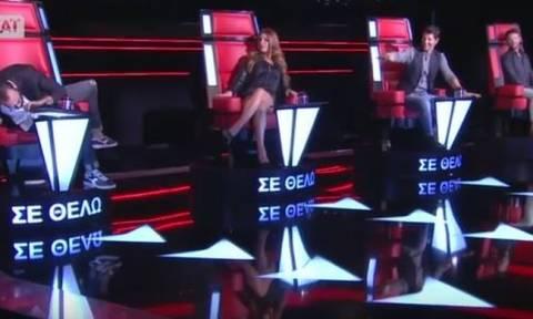 The Voice: Ηθοποιός από το Μπρούσκο πήγε στο talent show - Πέρασε στην επόμενη φάση;