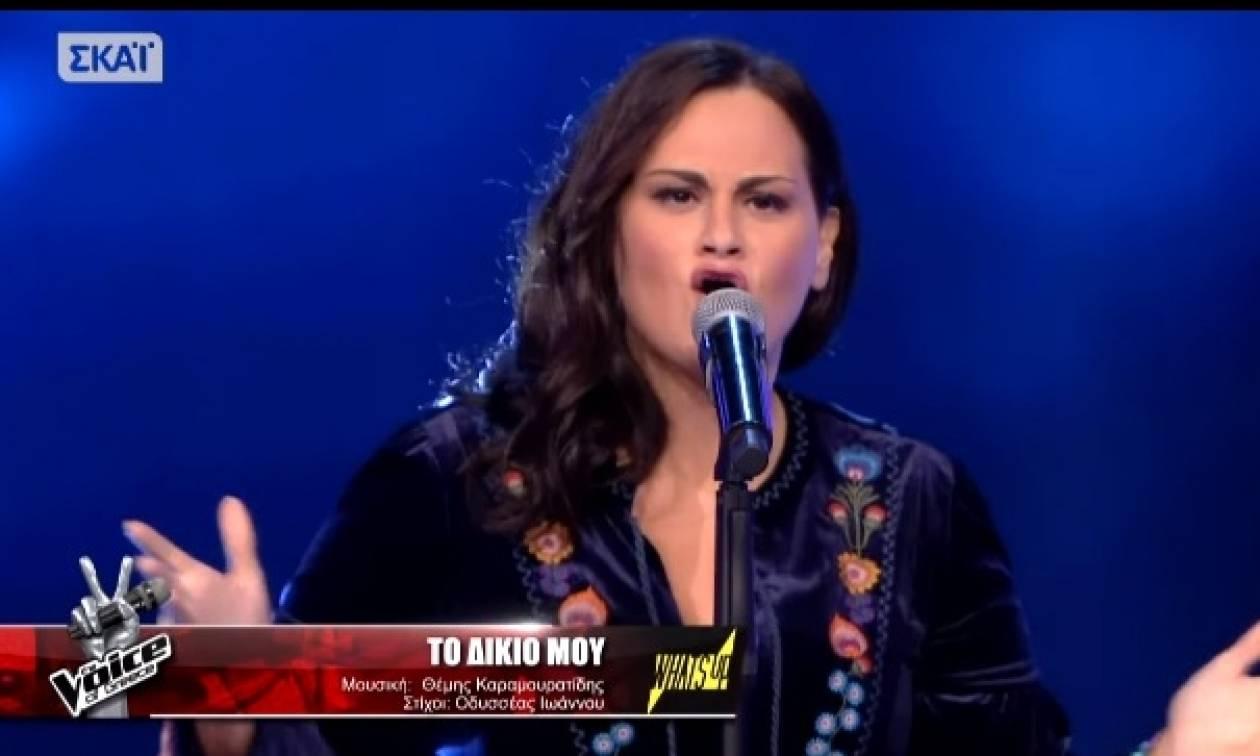 Η Κρητικιά τραγουδίστρια που ενθουσίασε τους κριτές του The Voice (video)