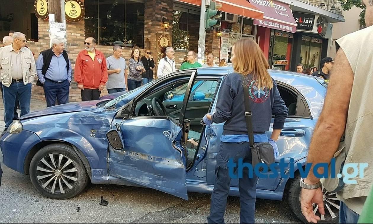 Θεσσαλονίκη: Τροχαίο ατύχημα με λεωφορείο - Τρεις τραυματίες