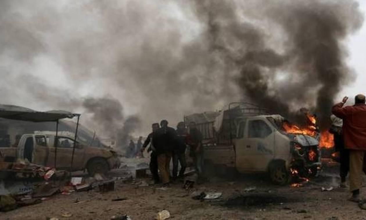 Ξαφνικοί βομβαρδισμοί στη Συρία σκόρπισαν το θάνατο