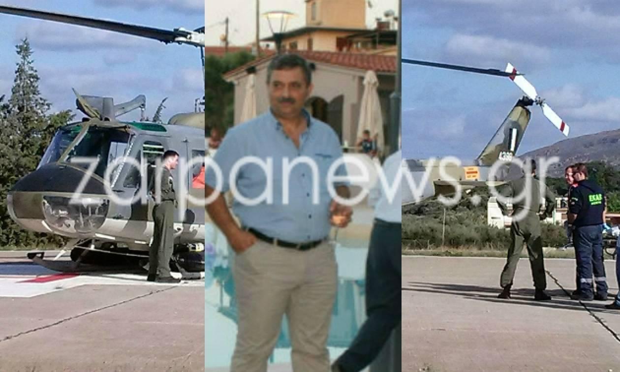 Νεκρός ο Μανώλης Χιωτάκης - Ποιος ήταν ο επιχειρηματίας που πέθανε την ώρα που κυνηγούσε