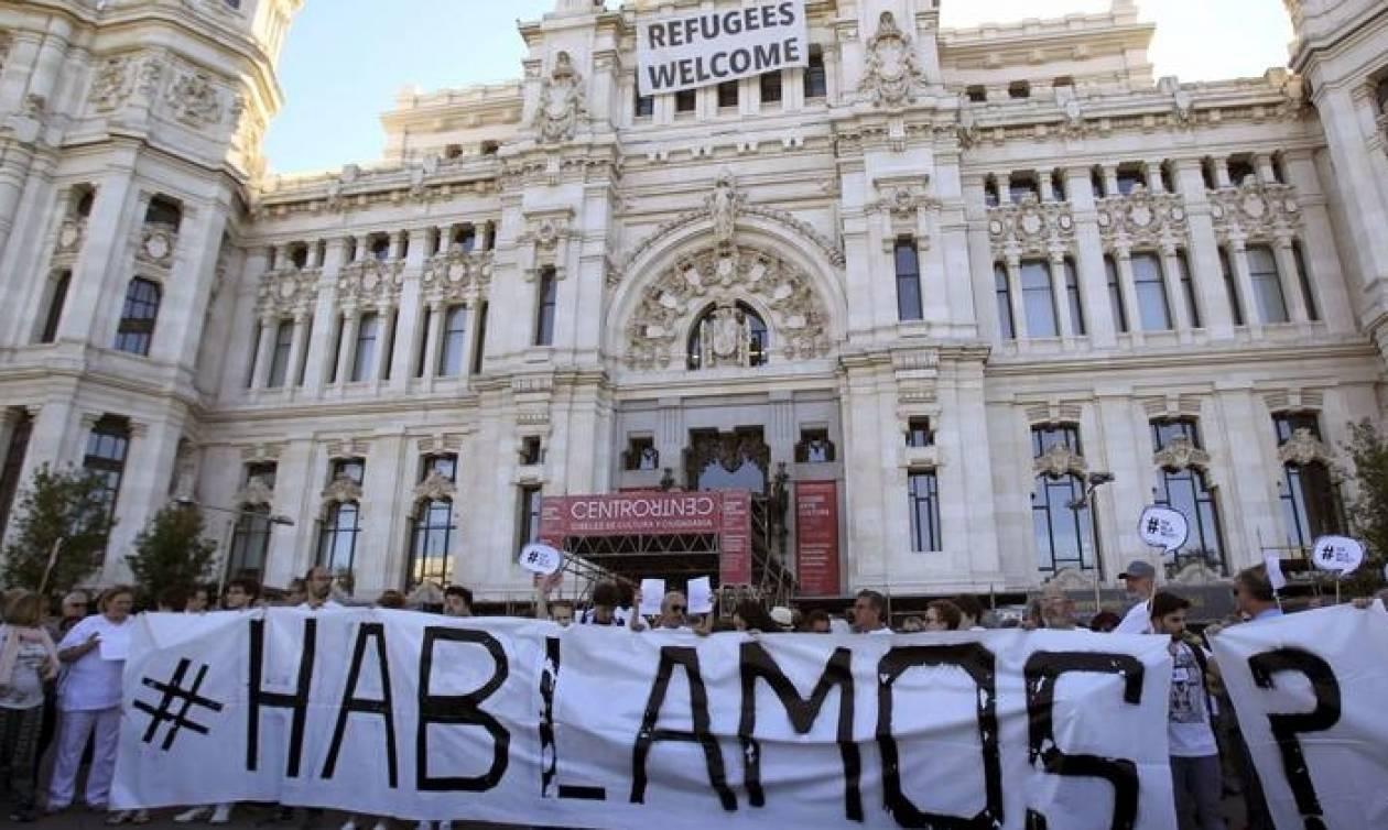 Ισπανία: Χιλιάδες διαδηλωτές στους δρόμους υπέρ του διαλόγου και της ενότητας