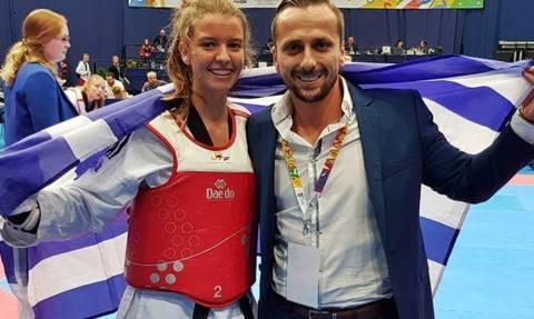 Πρωταθλήτρια Ευρώπης η Μπιτσικώκου, «ασημένιος» ο Ροδόπουλος στην Βουδαπέστη
