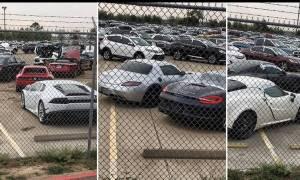Είναι απίστευτο τι αυτοκίνητα θα καταλήξουν στην πρέσα λόγω του τυφώνα Harvey