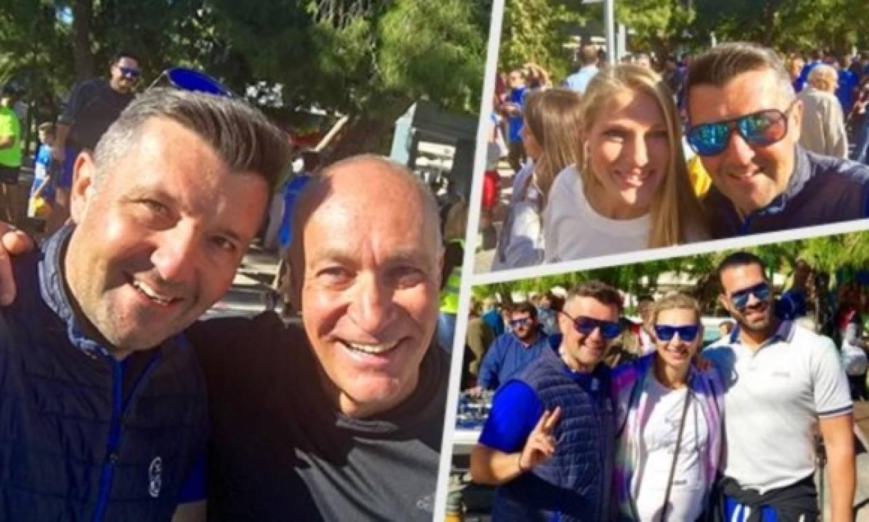 Historic Run: Συγκίνηση και «λάμψη» αστέρων στη Νέα Σμύρνη! (pics)