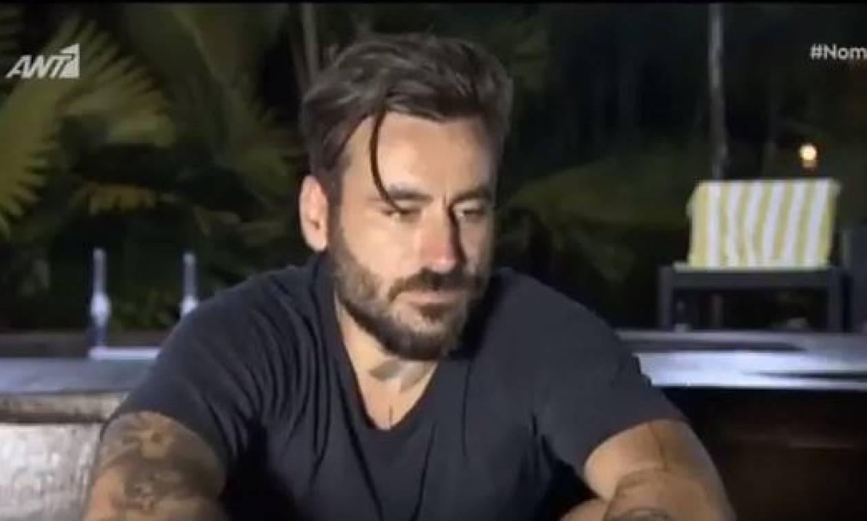 Nomads: (Ξανά)έβαλε τα κλάματα ο Μαυρίδης - Δείτε γιατί (vid)