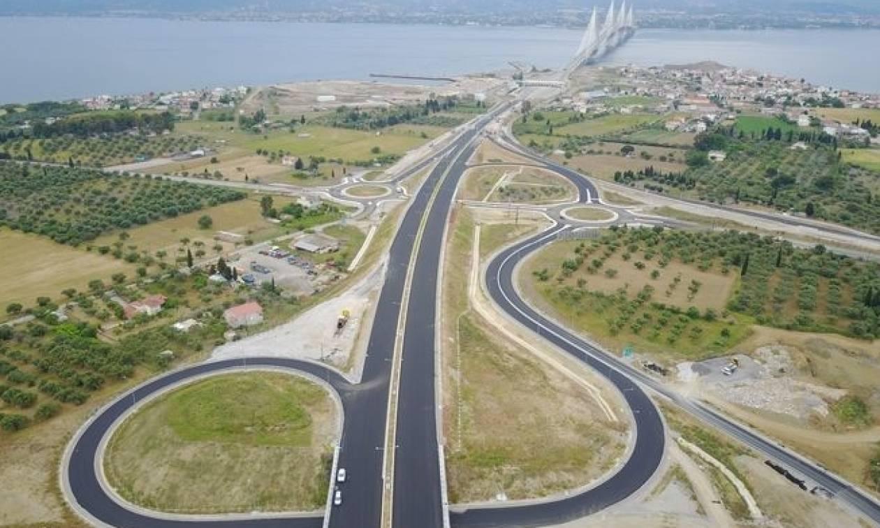 Προσοχή! Κυκλοφοριακές ρυθμίσεις στον κόμβο του Ρίου από την Τρίτη
