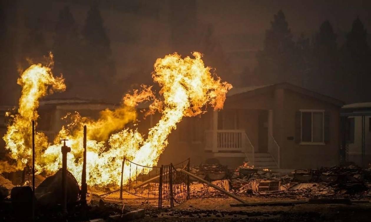 ΗΠΑ: Πύρινη κόλαση στην Καλιφόρνια - Τους 10 έφτασαν οι νεκροί (pics+vids)