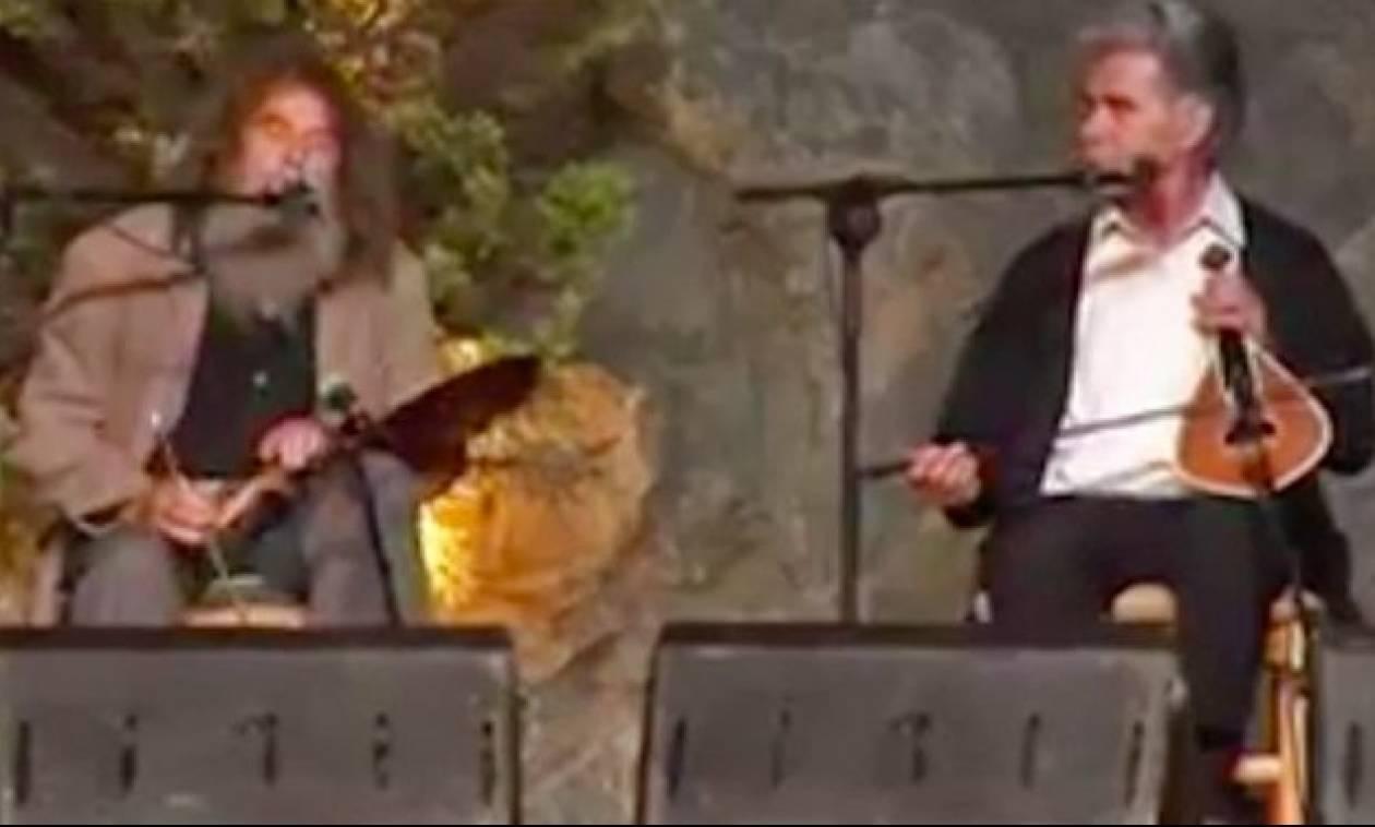 Δείτε τι συμβαίνει όταν σμίγουν ο Ψαραντώνης και ο Βασίλης Σκουλάς! (video)