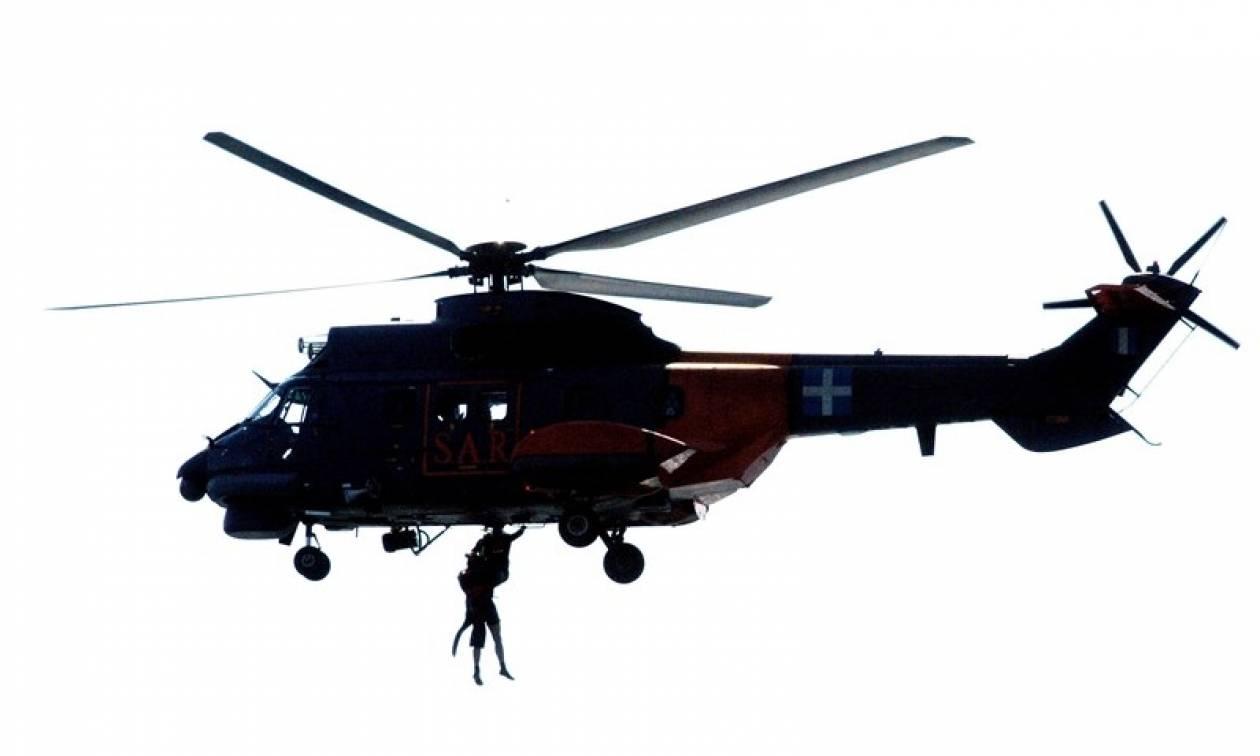 Βίντεο που κόβει την ανάσα: Έτσι σώζει ζωές η Πολεμική Αεροπορία