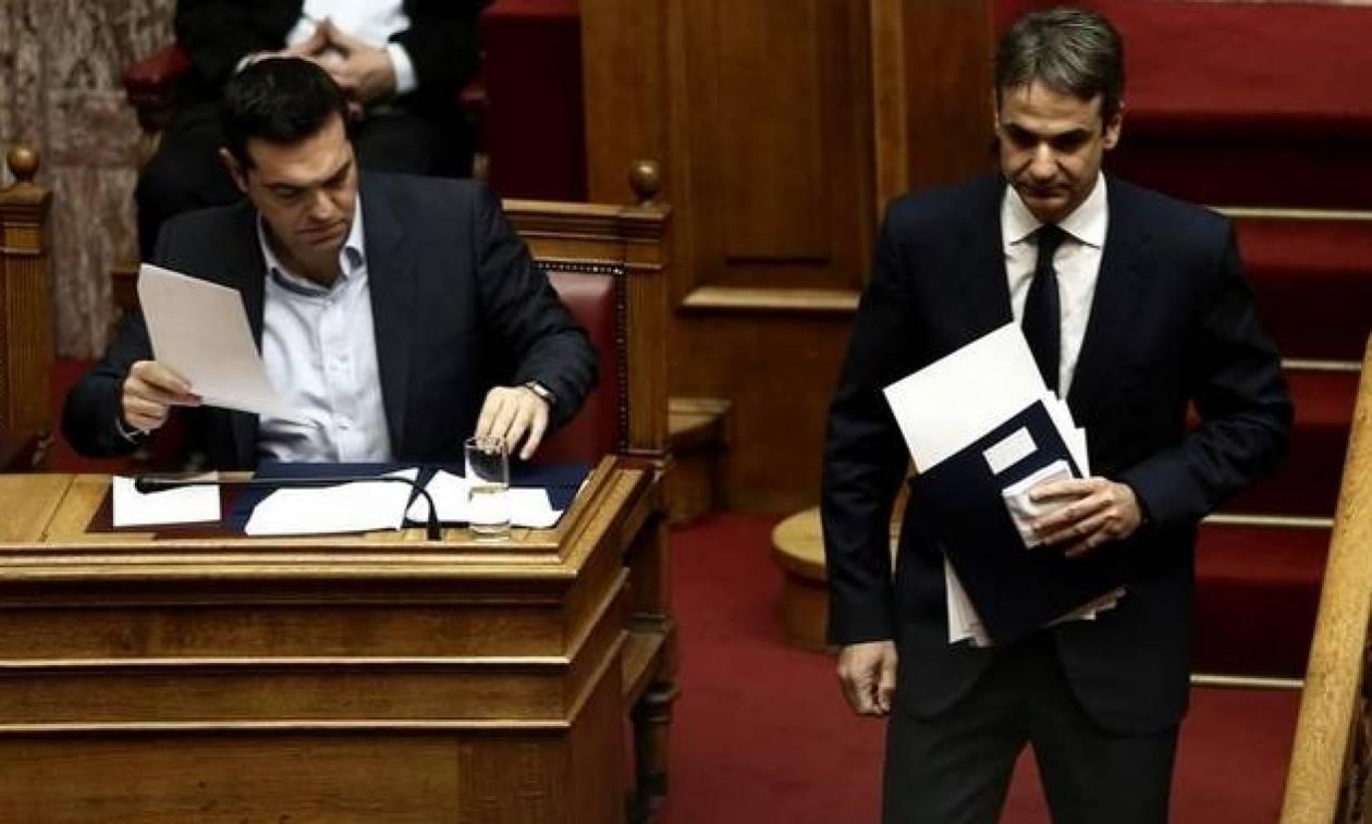 «Μετωπική» σύγκρουση Τσίπρα-Μητσοτάκη στη Βουλή για το νομοσχέδιο αλλαγής φύλου