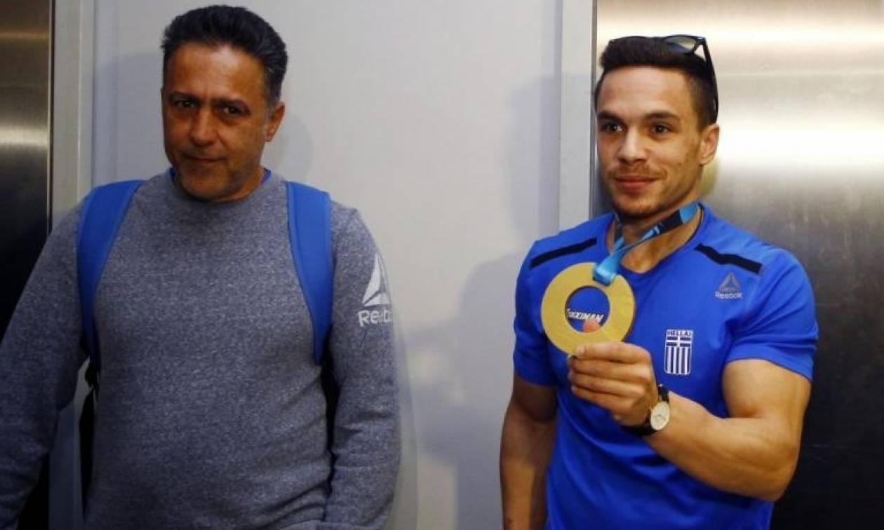Λευτέρης Πετρούνιας: Σε ποιους αφιέρωσε το μετάλλιο και τι ζήτησε από την Πολιτεία