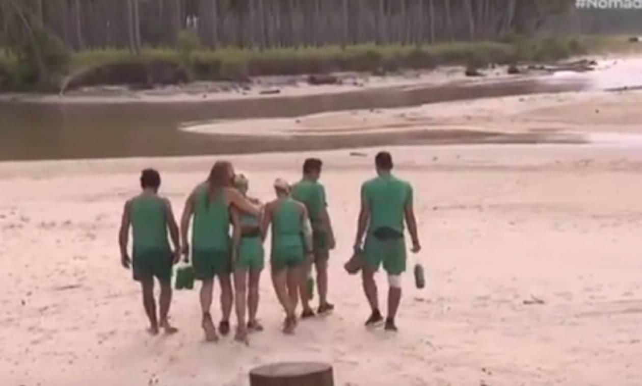 Χαμός στο Nomads: «Πλακώθηκαν» οι παίκτες της Ζούγκλας: «Σου λείπουν @@@@ μάγκα»