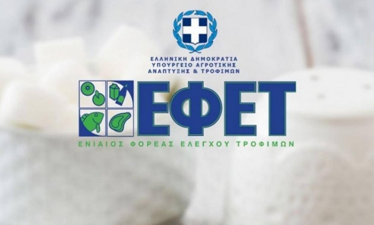 Ο ΕΦΕΤ προειδοποιεί: Μην καταναλώσετε αυτό το προϊόν