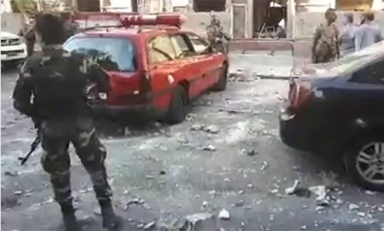 Δαμασκός: Τριπλή επίθεση αυτοκτονίας κοντά στην έδρα της αστυνομίας