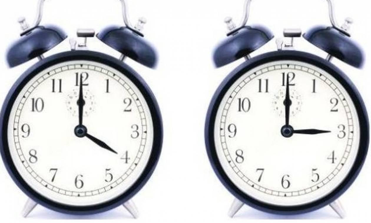 Αλλάζει η ώρα σε λίγες μέρες: Μπροστά ή πίσω τα ρολόγια;