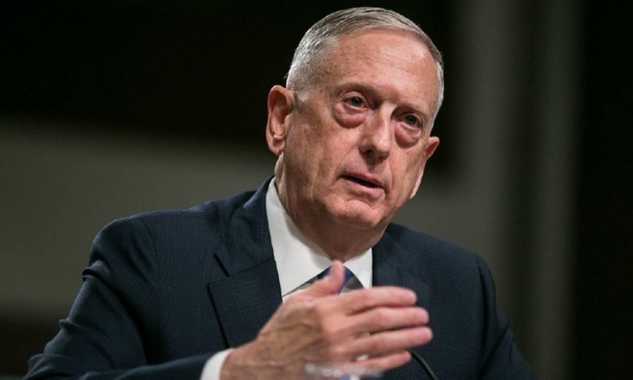Μάτις: Ψευδείς οι πληροφορίες ότι ο Τραμπ ζήτησε τον δεκαπλασιασμό του πυρηνικού οπλοστασίου