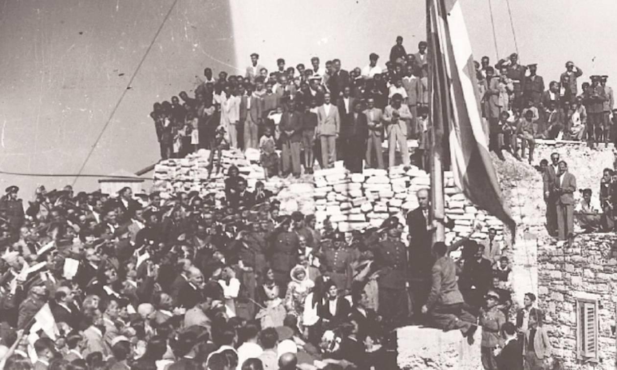 Η Αθήνα γιορτάζει την 73η επέτειο απελευθέρωσης από τη ναζιστική κατοχή