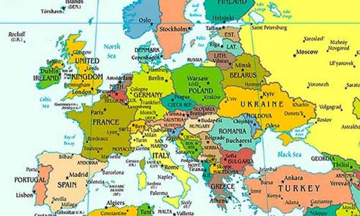 Χάρτης αποτυπώνει πόσες ώρες δουλεύουν οι εργαζόμενοι - Σε ποιά θέση βρίσκεται η Ελλάδα