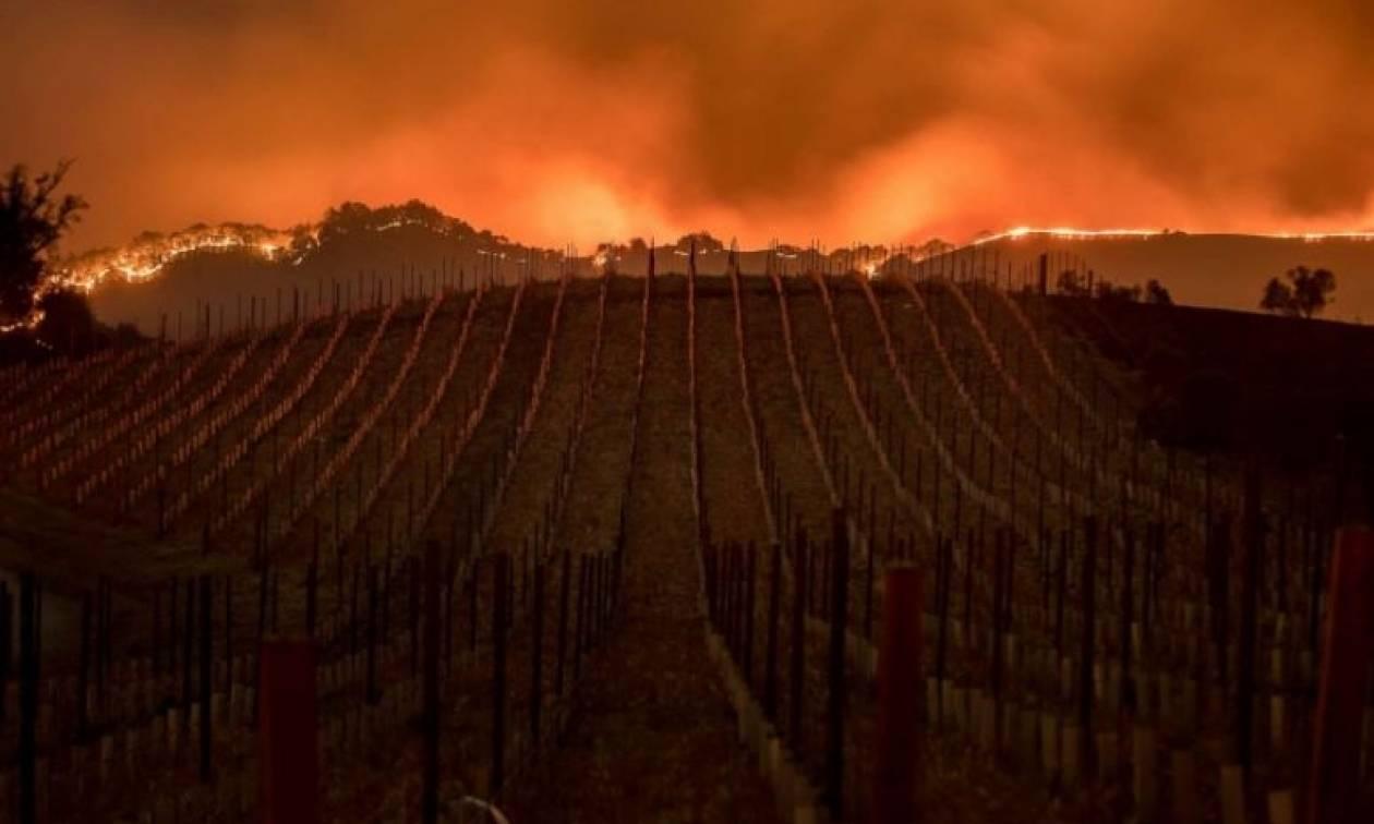 Καλιφόρνια: Μαίνονται οι φωτιές - Αυξάνεται συνεχώς ο αριθμός των νεκρών (pics)