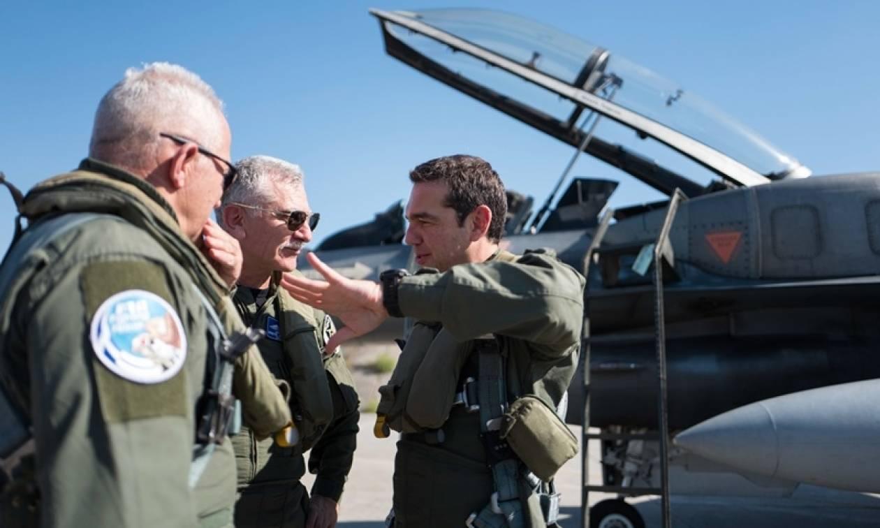 Τσίπρας: Η ψυχή των πιλότων είναι το μεγάλο υπερόπλο της Πολεμικής Αεροπορίας