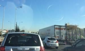 «Εφιάλτης» στην Εθνική Οδό Αθηνών - Λαμίας - Μποτιλιάρισμα άνω των 10 χλμ  (pics)