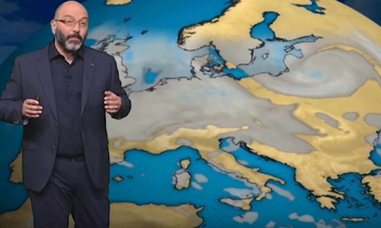 Σάκης Αρναούτογλου: Γι' αυτό... «εξαφανίζονται» οι βροχές απ' την Ελλάδα (Photo)