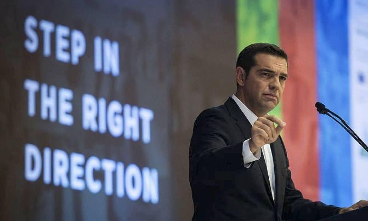 Τσίπρας στις ΗΠΑ: «Η Ελλάδα υπερασπίζεται σταθερά τα κυριαρχικά της δικαιώματα»