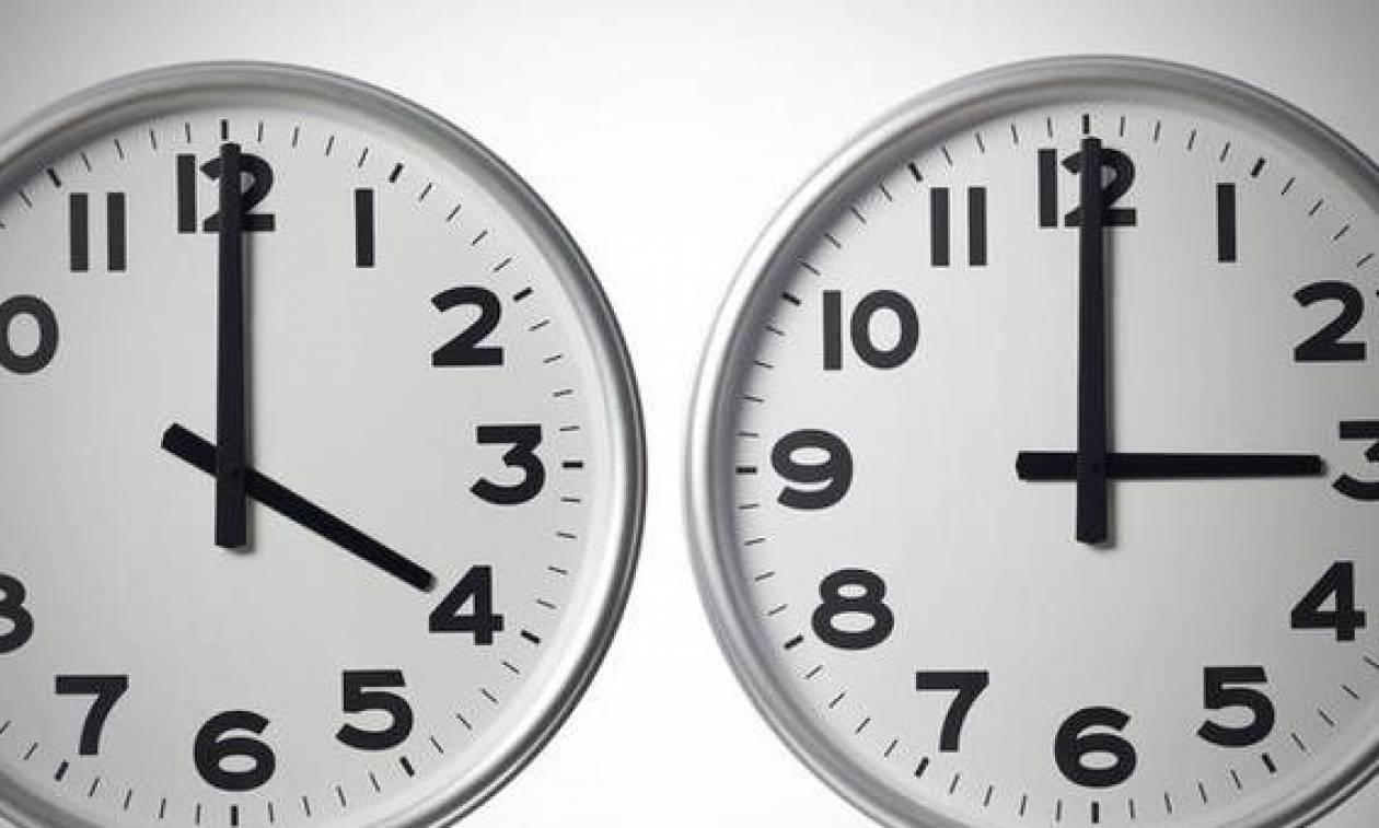 Αλλαγή ώρας 2017 σε χειμερινή - Πότε πρέπει να γυρίσουμε τα ρολόγια μας μία ώρα πίσω