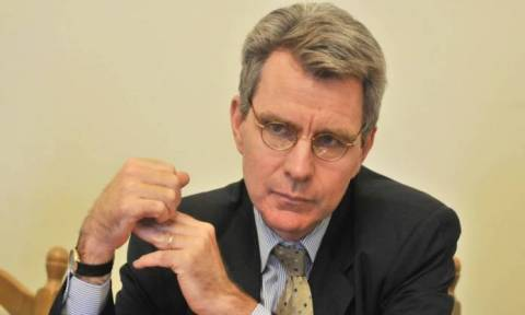 PM Tsipras visit to USA will be a success, says US envoy to Greece Pyatt