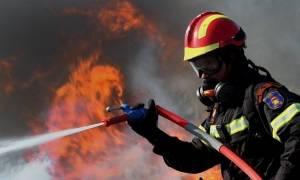 Μαίνεται η φωτιά στην Εύβοια