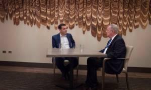 Συνάντηση Τσίπρα-Ντέρμπιν: Τι συζήτησαν για τις επενδύσεις ΗΠΑ στην Ελλάδα