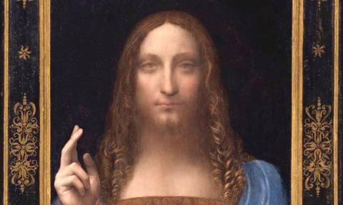Salvator Mundi: Ο «χαμένος» πίνακας του ντα Βίντσι θα πωληθεί για 100 εκατ. δολάρια