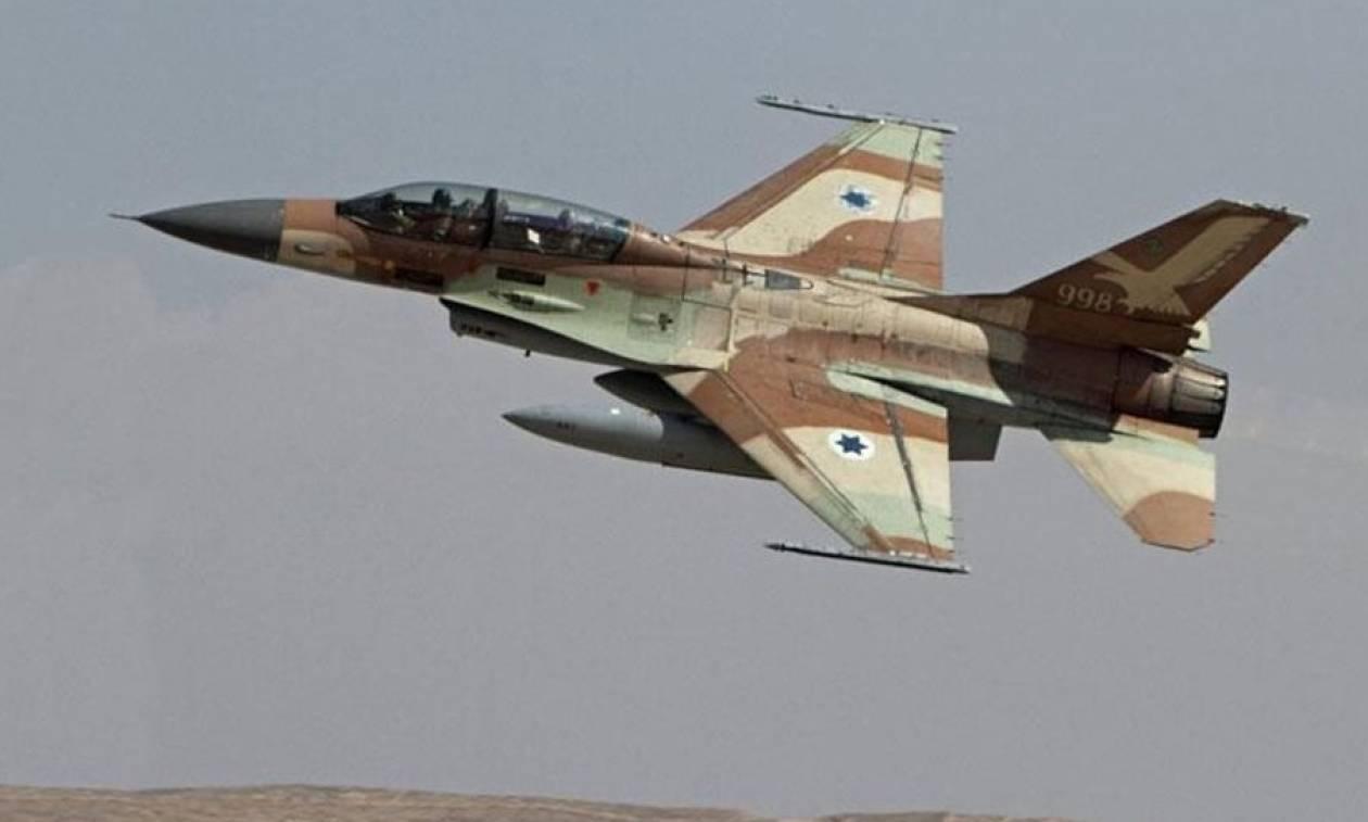 Η ισραηλινή Πολεμική Αεροπορία κατέστρεψε συριακούς πυραύλους