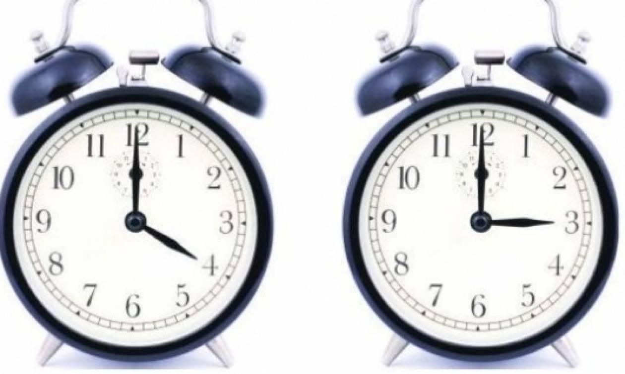 Προσοχή: Αλλάζει η ώρα σε χειμερινή - Πότε γυρίζουμε τα ρολόγια μας μία ώρα πίσω!