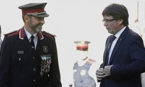 Ισπανία: Ελεύθερος υπό περιοριστικούς όρους αφέθηκε ο αρχηγός της αστυνομίας της Καταλονίας