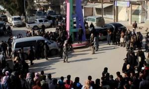 Ράκα: To SDF απελευθέρωσε την πλατεία στη Ράκα όπου οι τζιχαντιστές πραγματοποιούσαν τις εκτελέσεις