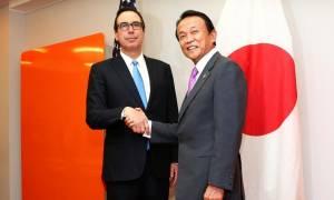 ΗΠΑ και Ιαπωνία θα συνεργαστούν στενά για την άσκηση οικονομικής πίεσης στη Βόρεια Κορέα