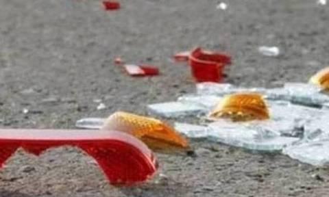 Ασύλληπτη τραγωδία στα Οινόφυτα – Πατέρας σκοτώθηκε σε τροχαίο μπροστά στον 9χρονο γιο του